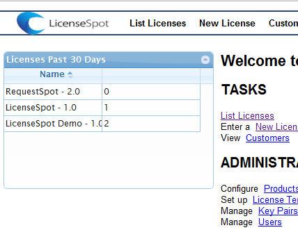 LicenseSpot Online Activation